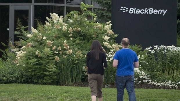 Shares of BlackBerry are up in pre-market trading amid reports company CEO Thorsten Heins and the board are toying with the idea of taking the Waterloo-based Smartphone maker private to fix the company's problems out of the public eye.