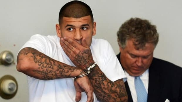 Former NFLer Aaron Hernandez has pleaded not guilty to murder in connection with the shooting death of Odin Lloyd.