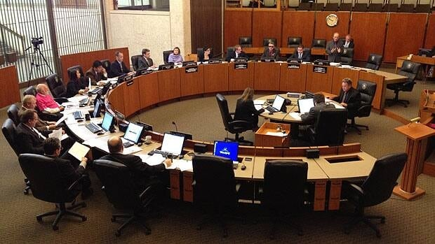Council discusses several motions on Thursday at City Hall.