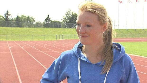 Having competed in the Rugby World Cup in June, Heather Moyse is training with the hopes of going to the Olympics in February.
