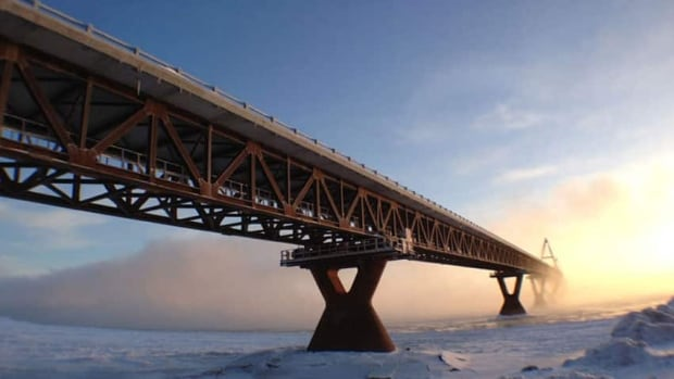 One year ago this weekend the first vehicles started rolling over N.W.T.'s Deh Cho Bridge across the Mackenzie River at Fort Providence.