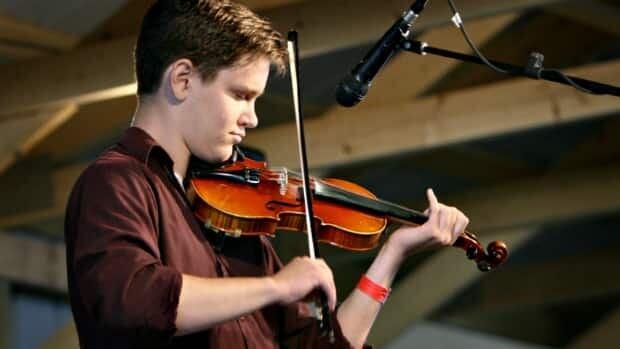 Saskatoon fiddler James Steele.