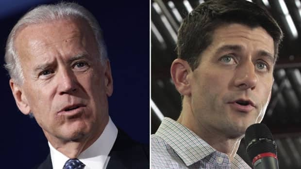 U.S. Vice-President Joe Biden, 69, squares off against 42-year-old Republican Congressman Paul Ryan in Kentucky in a political sparring match that will focus on both the economy and foreign policy.