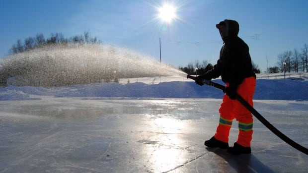 Skating on Sudbury's Ramsey Lake is still a few weeks away. City crews need to wait for the ice to thicken up some more before they head out to work on the popular skating path.