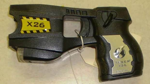Waterloo Regional Police say it will cost in excess of $155,000 to equip all frontline officers with Taser stun guns. The price tag doesn't include the cost of training officers or additional equipment required to maintain the weapons.