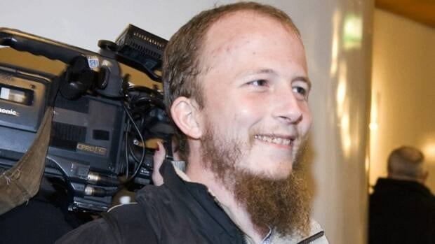 Gottfrid Svartholm Warg, one of the co-founders of the popular file-sharing website The Pirate Bay, in Stockholm, February 2009, the year he was sentenced in Sweden to one year in prison and ordered to pay 30 million kronor ($4.4 million) for violating copyright laws. Svartholm Warg was deported from Cambodia to Sweden on Monday.