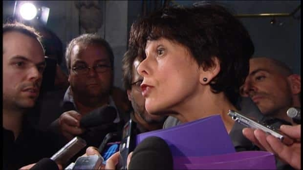 Quebec Education Minister Michelle Courchesne said Monday night's relatively peaceful demonstration showed protests can take place within the parametres of the new law.