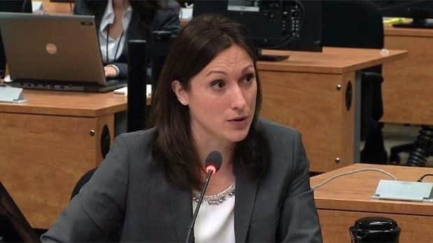 Italian Mafia expert Valentina Tenti testifed at the Charbonneau commission Tuesday.