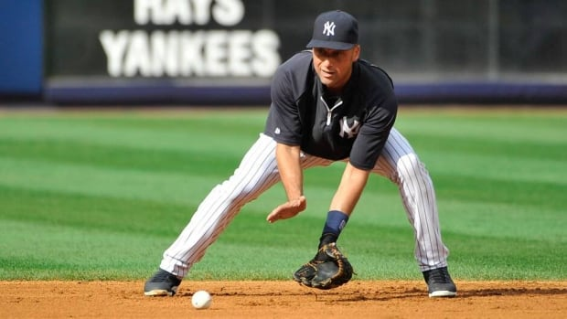 New York Yankees' Derek Jeter is taking time off to recover from a calf injury.
