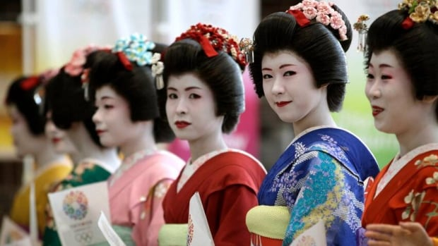 Kimono-clad models welcomed the International Olympic committee when they visited Tokyo earlier this year. The city is considered a frontrunner in the bid to host the 2020 Games.