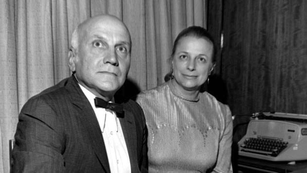 Virginia Johnson and her husband William H. Masters, seen here in 1972, co-wrote the bestselling book Human Sexual Response in 1966.