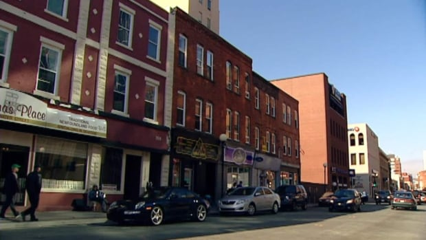 Downtown St. John's on May 14, 2012.