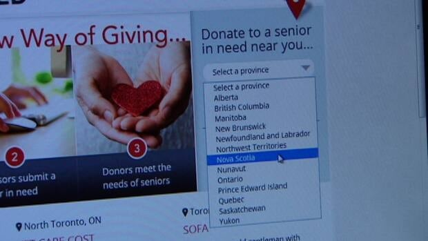 The idea behind Seniors in Need is to deliver assistance, from person to person, one donation at a time.