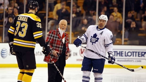 With the lockout into Day 25, Hockey Night in Canada commentator Don Cherry, seen here in this file photo, took to Twitter with some harsh words for locked out NHL players, especially those on social media.