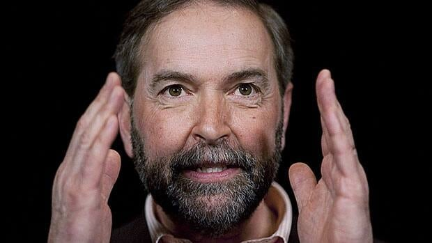 The NDP is planning to film television ads this week featuring newly elected leader Thomas Mulcair.