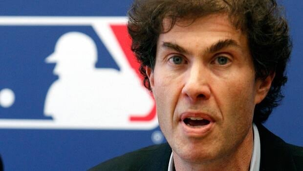 This April 21, 2011 file photo shows baseball players union head Michael Weiner speaking at a news conference in New York. Weiner is undergoing treatment for a brain tumor.