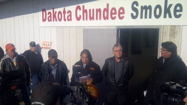 First Nations members opened the Dakota Chundee Smoke Shop on Nov. 9. The illegal smoke shop has since been raided four times, most recently on Tuesday afternoon.