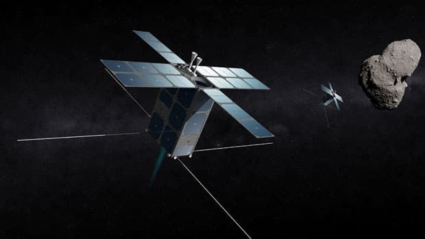Deep Space Industries plans to start sending its FireFly spacecraft to explore asteroids in 2015.