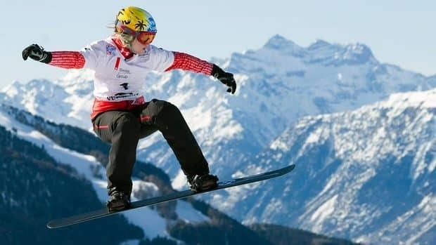 Canada's Dominique Maltais also won snowboard cross silver in December with teammate Maelle Ricker.