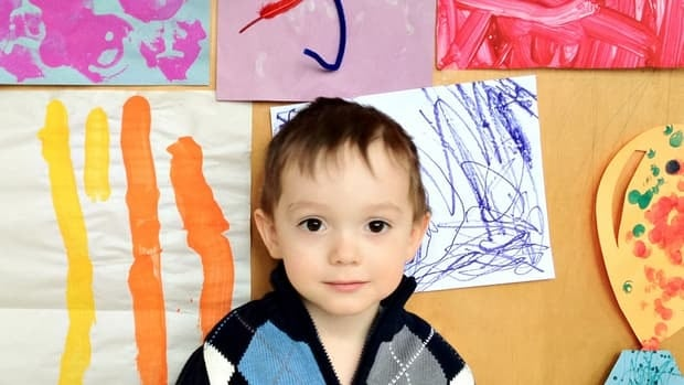 Kirsten Travis Loop, a mother of one in Waterloo, Ont., is thrilled to receive a tax credit for enrolling her three-year-old son, Julian, pictured, in arts programs.