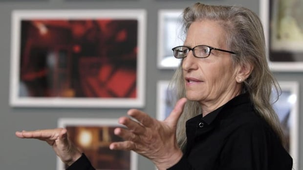 It's been almost a year since a collection of Annie Leibovitz photographs were donated to the Art Gallery of Nova Scotia, but officials can't say when a major show of her work will be ready.
