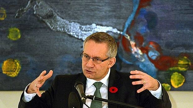 Ed Fast, minister of international trade, talked about how Ireland and Canada could work together to ensure a strong Canada-EU trade deal in a speech at the Irish ambassador's residence in Ottawa Nov. 1. Fast is meeting with EU negotiators this week ahead of key talks in Brussels next week.