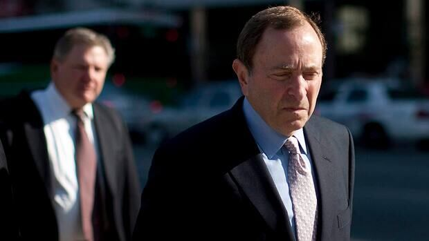 NHL commissioner Gary Bettman was involved in a new round of talks on Tuesday.