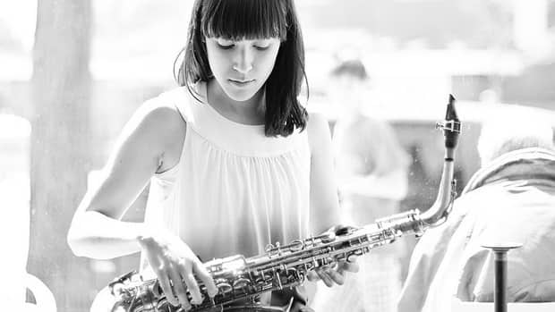 The Allison Au Quartet is one of more than a dozen artists playing the free Sun Life Financial UpTown Waterloo Jazz Festival this weekend.