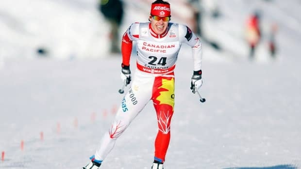 In this Dec. 15 file photo, Alex Harvey, from St-Ferreol-les-Neiges, Que., skis during the men's World Cup 1.3 km free sprint qualifications in Canmore, Alta.