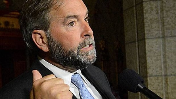 'The Conservatives have no morality when it comes to making rich people pay their taxes,' NDP Leader Tom Mulcair said Wednesday, following an exclusive CBC News report about offshore investments by the family of a former Tory prime minister.