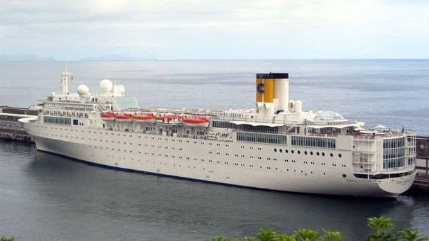 The Costa Allegra cruise ship is owned by the Italian company Costa Crociere.