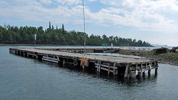 A spokesperson for Fisheries and Oceans Canada says the department is still looking at future options for the dock at Silver Islet on the Sibley Peninsula.