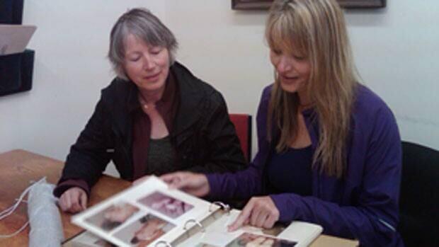 Darlene Kalynka and Valerie Brown remember their sister Oceania Marlene Kalynka
