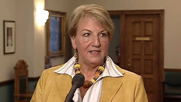 Kathy Dunderdale tells reporters in St. John's that Auditor General Wayne Loveys could have found the information he wanted through other means, although she did not identify any.