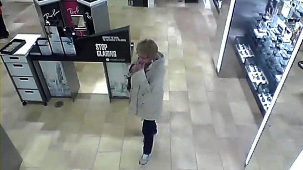 Police say this woman stole $7,500 worth of sunglasses from a Halifax store.