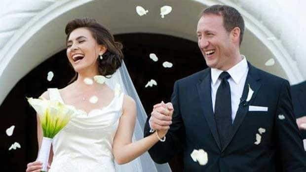 Defence Minister Peter MacKay opens up to CBC's George Stroumboulopoulos about his new wife, human rights activist and former beauty queen Nazanin Afshin-Jam, in an interview airing Wednesday evening on CBC Television.