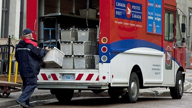 Canada Post handled more than one million packages last Thursday.