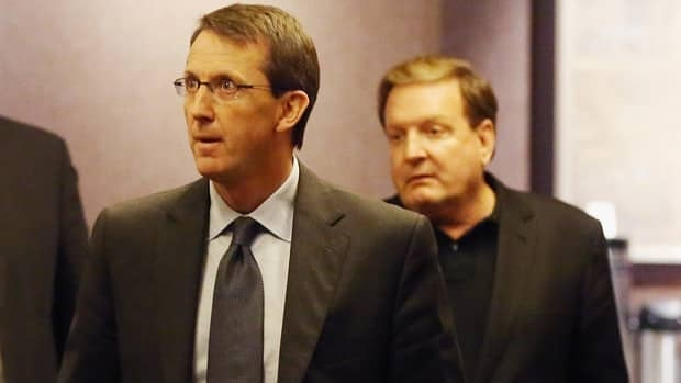 Winnipeg Jets Co-chair Mark Chipman and Pittsburgh Penguins co-owner Ron Burkle proceed to negotiations with the NHLPA on Thursday in New York.