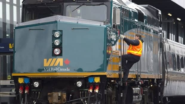 An elderly woman suffering flu-like symptoms was found dead on a Vancouver-Toronto Via Rail train early Saturday morning, according to a statement released by the company.