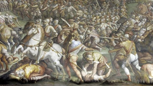 Giorgio Vasari's painting The Battle of Marciano may hide another battle scene by Leonardo da Vinci, but some art historians oppose research seeking to uncover what's behind the Vasari mural.