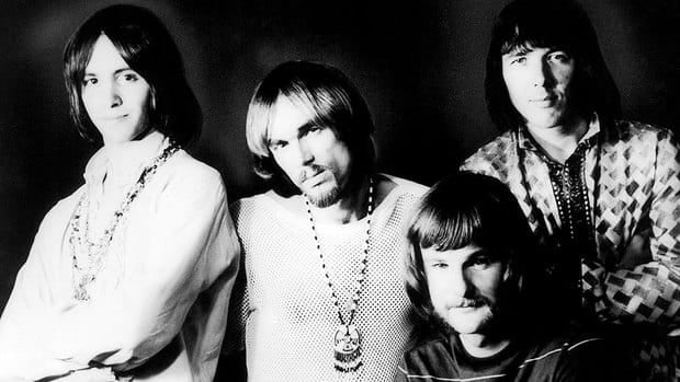 The members of Iron Butterfly -- (from left) Erik Brann, Ron Bushy, Lee Dorman and Doug Ingle -- are seen in 1969. Dorman, the bassist for psychedelic rock band, has died at age 70.