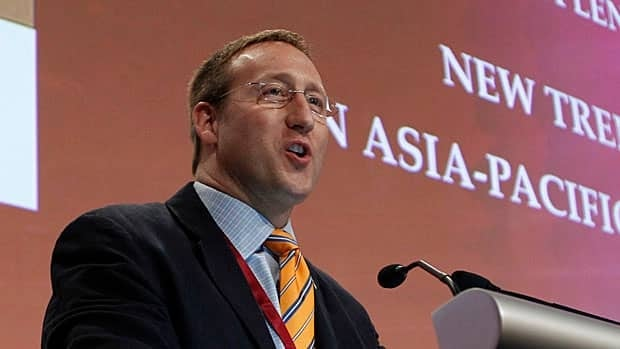 Defence Minister Peter MacKay, seen here speaking at the International Institute for Strategic Studies (IISS) Asia Security Summit in Singapore on June 2, quietly issued directives to Canada's electronic eavesdropping agency to assist with RCMP and CSIS investigations of Canadians.