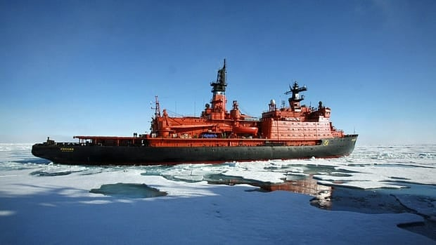 The effort to map the Arctic seafloor required more than a dozen icebreaker voyages, as well as trips by helicopters, airplanes and an unmanned, remote-controlled submarine that spent days under the ice.