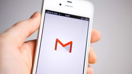 Gmail app stock photo