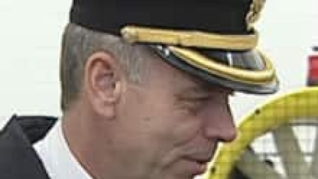 Supt. Don Byrne of the St. John's Regional Fire Department in a photo from CBC's archives.