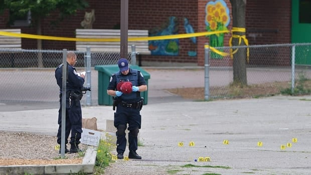 Toronto police statistics indicate that more than 20 people have died as a result of gunfire since the start of the year.