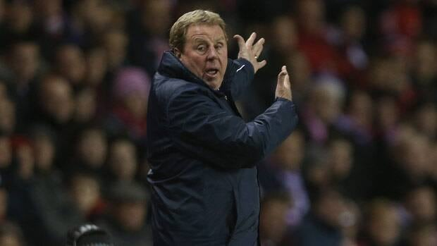 Queens Park Rangers manager Harry Redknapp gestures to his players during his first game in charge during the Barclays Premier League match at the Stadium of Light in Sunderland.