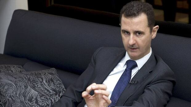 Syria's President Bashar al-Assad was attacked on the way to a mosque, members of the Free Syrian Army claimed Thursday.