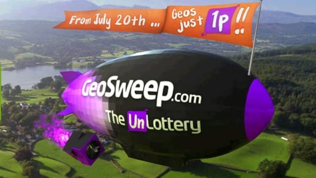 The Geosweep game allowed players to pick a spot on a map instead of a number.