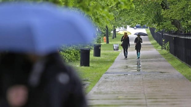 Though wet, Maritimers were none the worse for wear after Gabrielle brought up to 70 millimetres of rain.